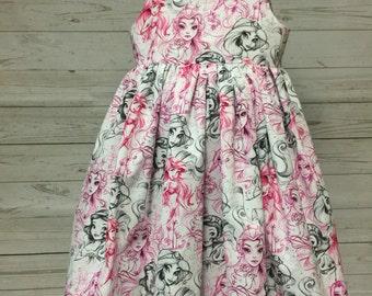 Disney Princesses Sketch Dress