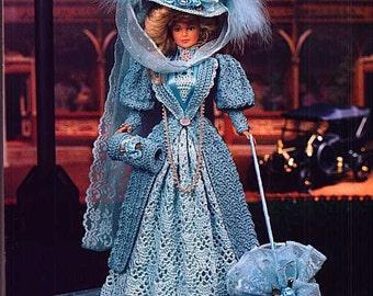 44. Barbie lady dress-crochet pattern in pdf