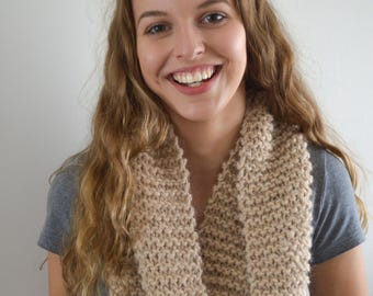 READY TO SHIP | The Jane Cowl | Knitted Cowl | Knitted Scarf