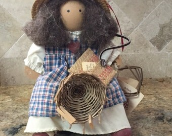 Lizzie High basketmaker doll.