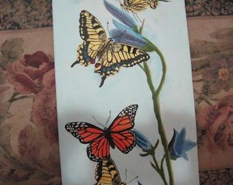 original painting:  Butterflies