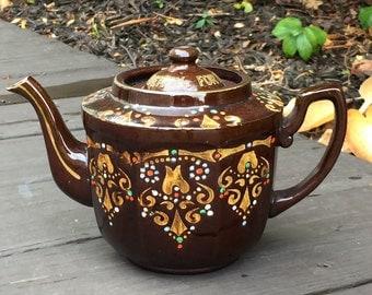 World War II Memorabilia Teapot For Democracy and Liberty - England