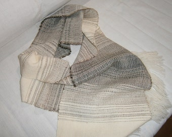 Soft merino wool scarf