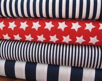 Riley Blake Stars and Stripes Fabric Bundle