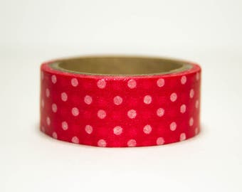 Washi Tape with white dots