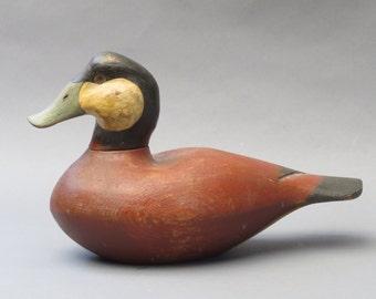 Antique style Ruddy Duck Decoy