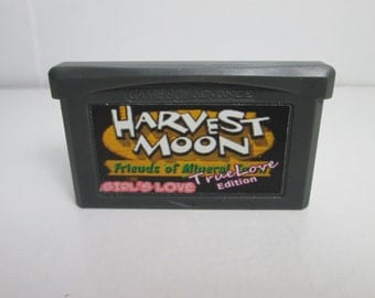 EXCLUSIVE Harvest Moon True Love GIRLS version Friends of Mineral Town GBA