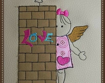Embroidery * Tshe & Love3 * 10 pieces (10 x 10 up to 20 x 30)
