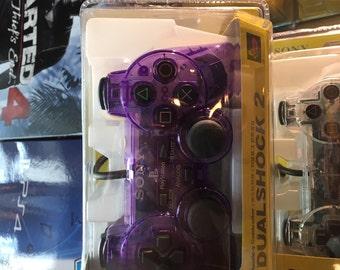PS2 Dual Shock Controller - Violet