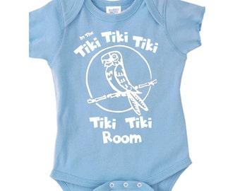 Disney Baby Shirt Tiki Room Shirt Tiki Parrot Shirt  Baby Disney Shirt Disneyland Shirt Disney World Shirt Magic Kingdom Shirt