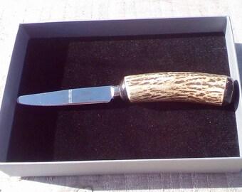 Stag Antler fruit knife.