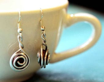 Coffee Bean Earrings for Women | Coffee Lovers Gift | Coffee Jewelry | Fair Trade Gift Made By Women, For Women