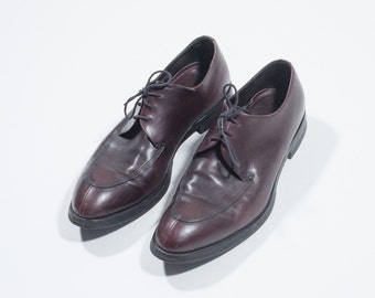 PRADA - leather shoes