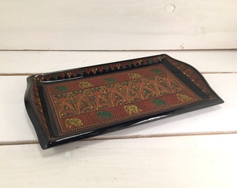 Hand-made Burmese Lacquer Tray