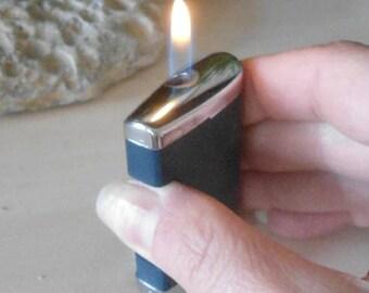 Ronson Comet lighter, Gaz Ronson lighter, Vintage Ronson lighter, blue Ronson lighter, collectible Ronson, collectible lighter, gaz lighter