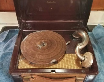 Record player wind up