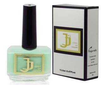 JJ Custom Colour Green with Envy - Green nail Polish