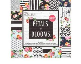 """Petals & Blooms Scrapbook Paper Pad - 6"""" x 6"""""""