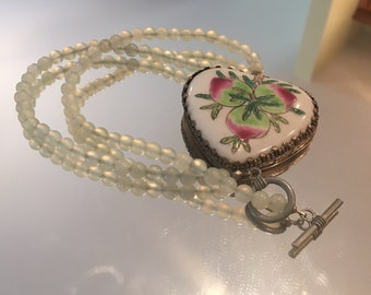 One of a Kind Heart Necklace ~ Sure to Draw Attention!