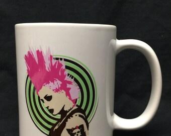 Riot Girl coffee mug