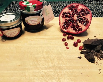 Pomegranate Chocolate Sauce