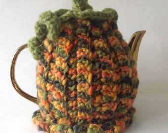 Autumn Pumpkin Tea cosy
