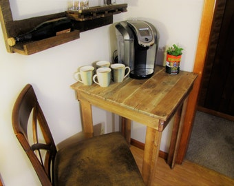 Pallet Coffee Nook (Shipping Included)