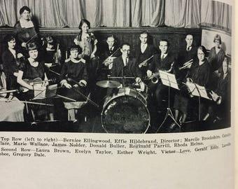 1924 Fairmount High School IN Yearbook