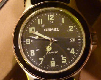 Vintage Camel Watch by M.Z. Berger & Co.