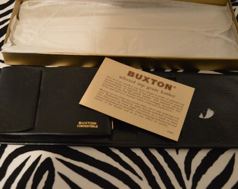 Black Buxton Wallet With Box