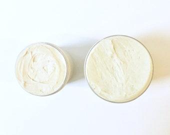VANILLA SANDALWOOD LOTION | Vanilla Sandalwood Body Butter | Organic Body Butter | Organic Body Whip | Organic Lotion