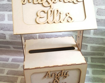 Wishing Well Wedding Card Box Wishing Well, Wedding Card Box,  Mail Box, Post Box, wedding post box, card holder, wedding box, wedding cards