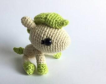 Bubbles the Little Pony - Handmade Crochet Amigurumi Plush Toy [Ready to ship]