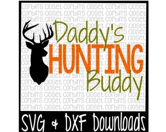 Fishing Poles, Hunting Gear, Dreams of Bass and Big Deer Cutting File - SVG & DXF Files - Silhouette Cameo/Cricut