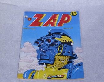 Vintage comics adults only comics ZAP Comix 1974 1970s San Francisco cyberpunk comics