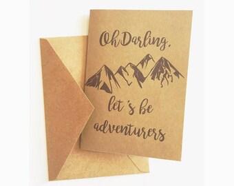 Adventurers Card
