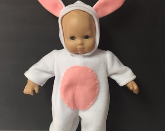 Outfit for American girl Bitty Baby Bunny Costume