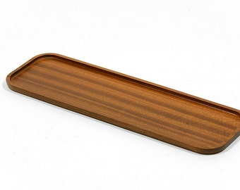 VintageSwedish made teak tray from the 1960s. Made by AB Träfiness, Linköping, Sweden