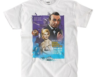 007 From Russia With Love - White T-shirt