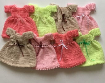 Sale | Knitted dress for dolls | clothes for dolls