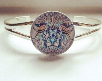 Lion slave bracelet