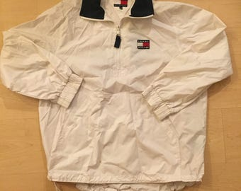 Vintage Tommy Hilfiger White Jacket
