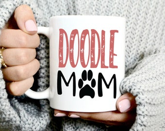 Doodle Mom Coffee Mug - Golden Doodle Lover - Gift For Christmas - Cute Coffee Mug - Dog Mom