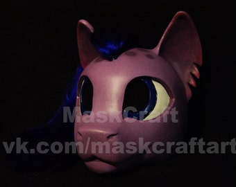 Pony Helmet with hairs from MyLittlePony by MaskCraft