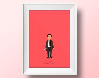 Quentin Tarantino - Director Poster