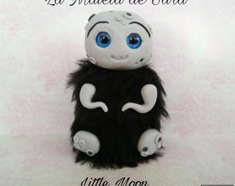 Art toy, art doll little moon