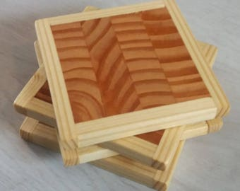 Endgrain Coasters