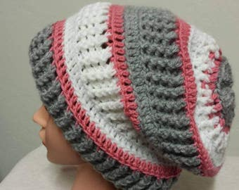 Slouchy hat. Warm and soft.