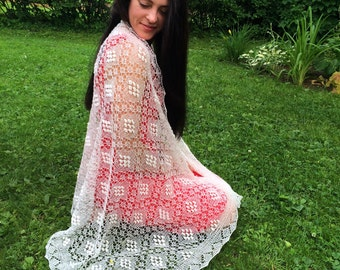 "Estonian Traditional Haapsalu Shawl ""Queen Sofia"""