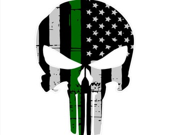 Army, Military Punisher Decal